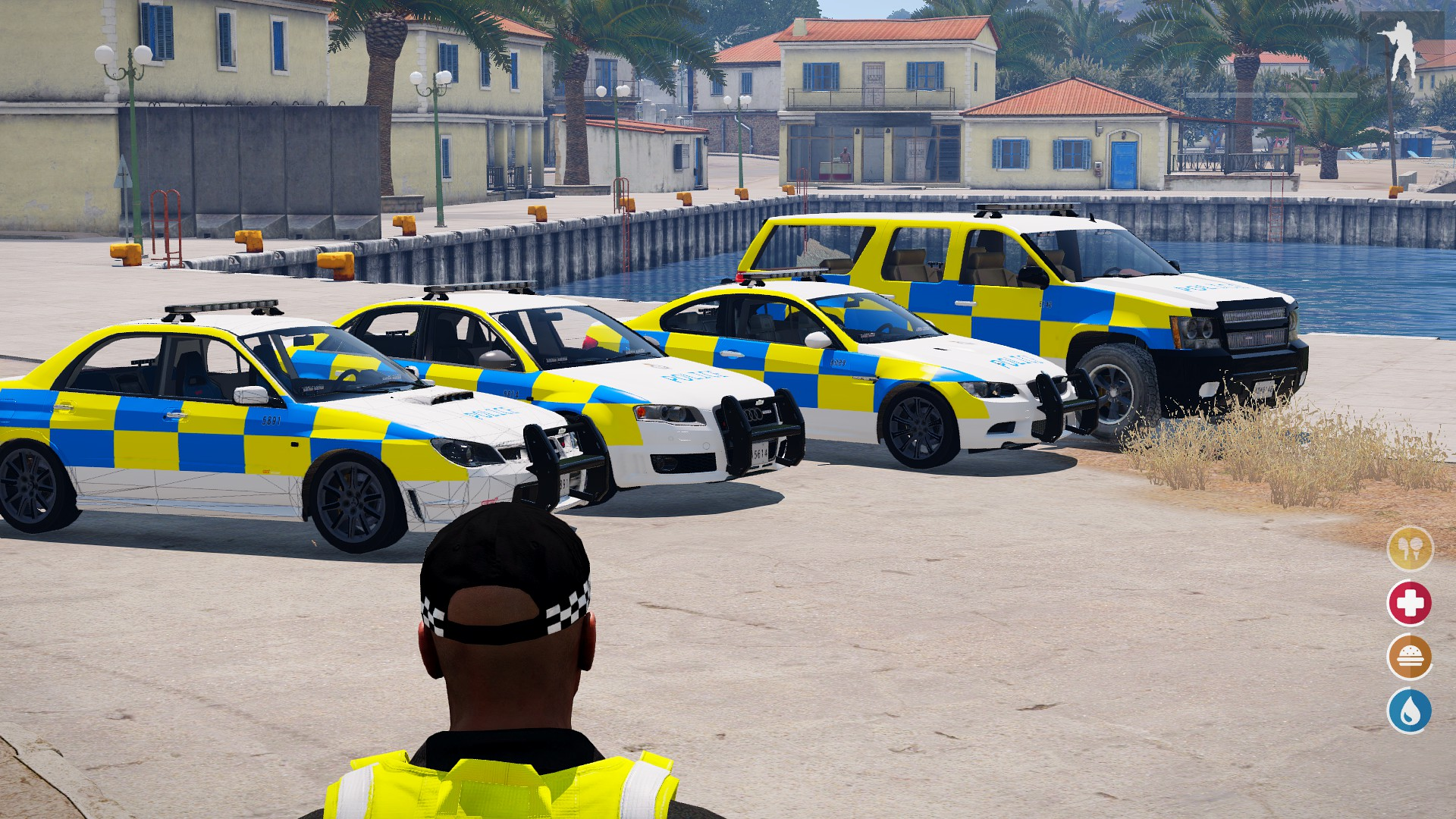 UK/Ivory] Altis Life Police Vehicles - Graphics - Altis Life RPG