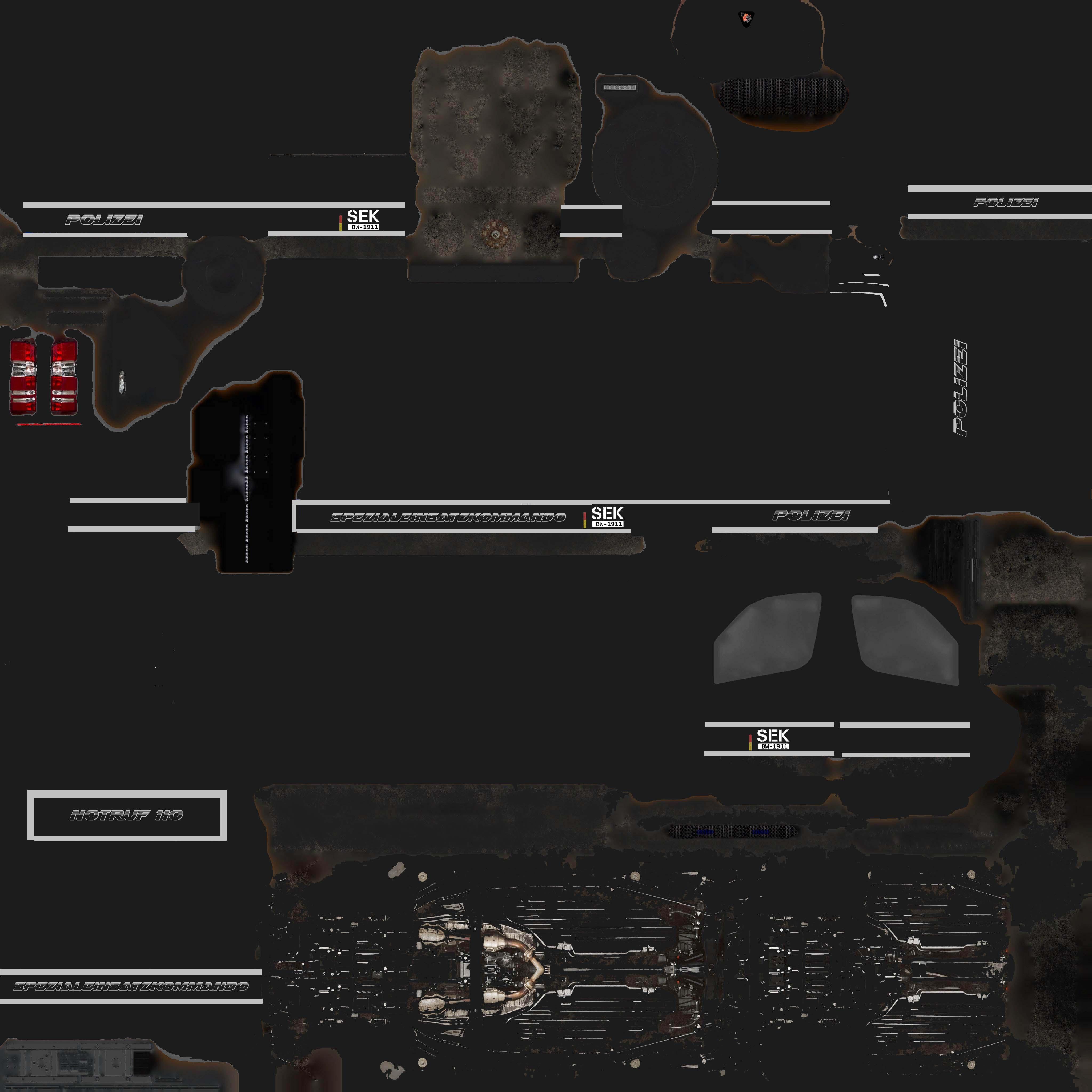 Free Skin] Police Transporter - Graphics - Altis Life RPG