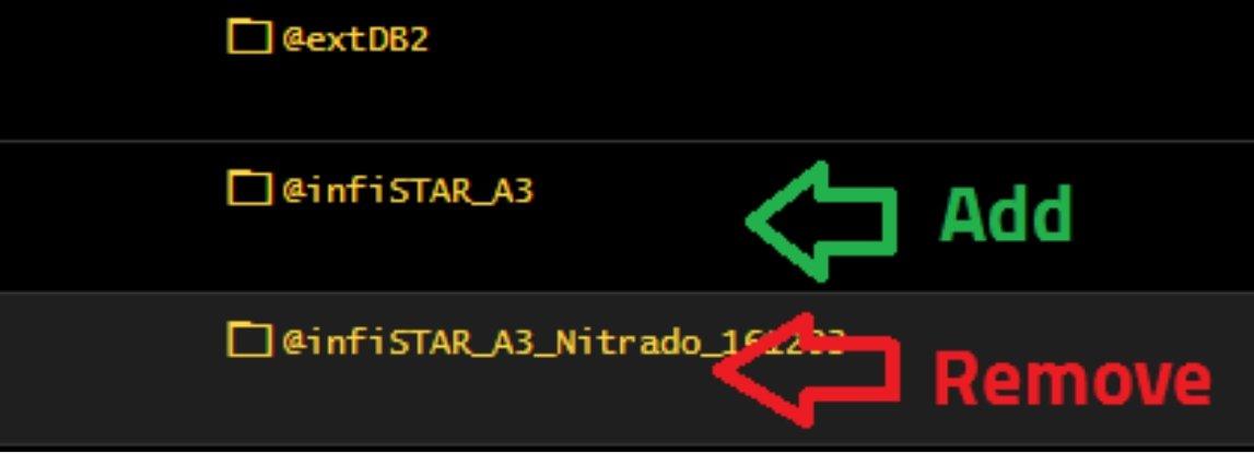 Implementing Infistar, replacing Nitrado version - Server Setup and